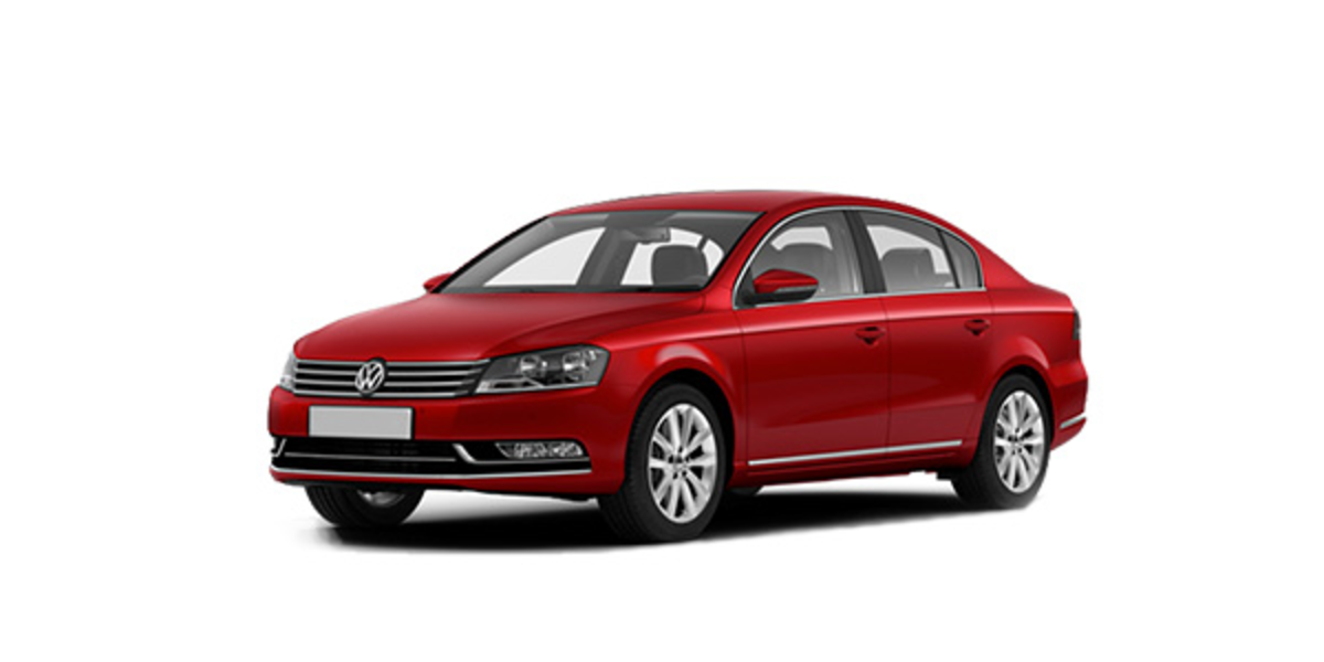 VW Passat B7 (USA) 10-