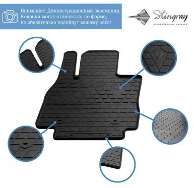 Передние автомобильные резиновые коврики Kia Sorento 2015-