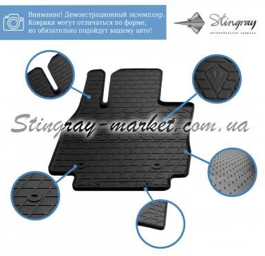 Водительский резиновый коврик Nissan Note (E12) 2012-