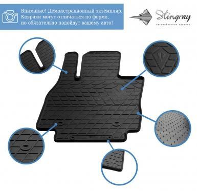 Водительский резиновый коврик Lincoln MKC 2014-2019
