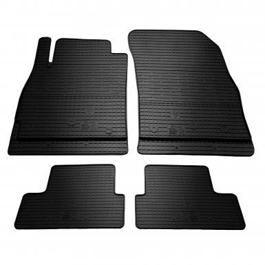 Комплект резиновых ковриков в салон автомобиля Chevrolet Orlando 2011-