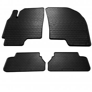 Комплект резиновых ковриков в салон автомобиля Chevrolet Epica 2006-2012