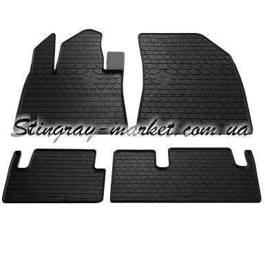 Комплект резиновых ковриков в салон автомобиля Citroen C4 Picasso 2013-