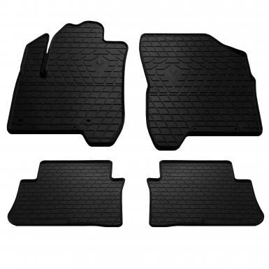 Комплект резиновых ковриков в салон автомобиля Citroen C3 Picasso 2009-