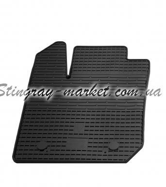 Водительский резиновый коврик Dacia Logan 2013-