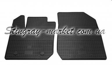 Передние автомобильные резиновые коврики Renault Logan 2013-