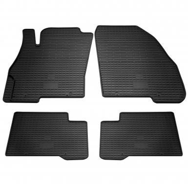 Комплект резиновых ковриков в салон автомобиля Fiat Linea Fiat Linea 2007-2015