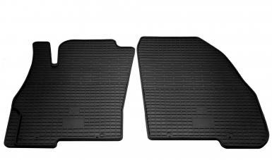 Передние автомобильные резиновые коврики Fiat Punto 2005-2018