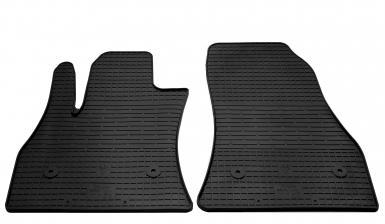 Передние автомобильные резиновые коврики Fiat 500L 2012-2020