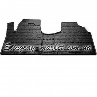 Комплект резиновых ковриков в салон автомобиля Citroen Jumpy 1995-2007
