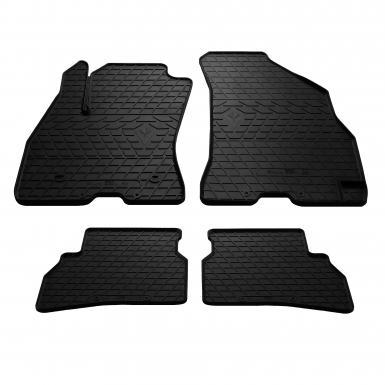 Комплект резиновых ковриков в салон автомобиля Fiat Doblo (263) 2010-