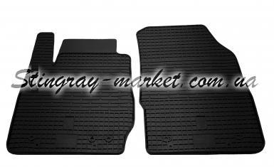 Передние автомобильные резиновые коврики Ford Fiesta 2008-2017