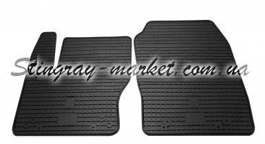 Передние автомобильные резиновые коврики Ford Focus 2011-2018