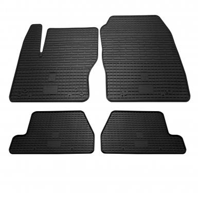 Комплект резиновых ковриков в салон автомобиля Ford Focus 2011-2018
