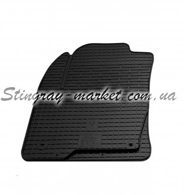 Водительский резиновый коврик Mazda 2