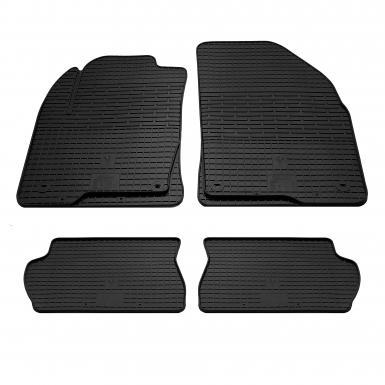 Комплект резиновых ковриков в салон автомобиля Ford Fusion 2002-2012