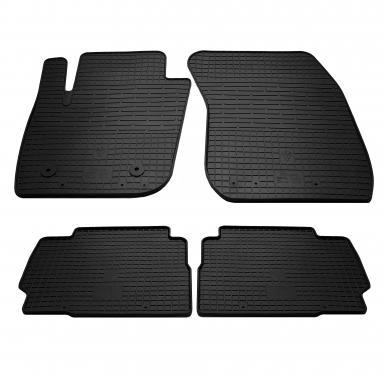 Комплект резиновых ковриков в салон автомобиля Ford Mondeo 2014-