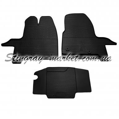 Комплект резиновых ковриков в салон автомобиля Ford Tourneo Custom 2012