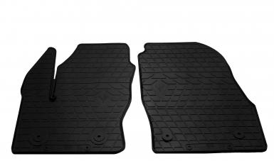 Передние автомобильные резиновые коврики Ford Transit Connect 2014- (design 2016)