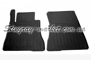 Передние автомобильные резиновые коврики Ford Mustang VI 2014-