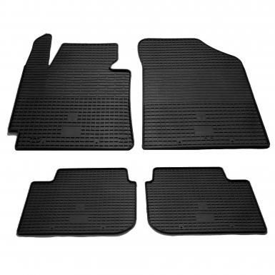 Комплект резиновых ковриков в салон автомобиля Kia Cerato 2012-
