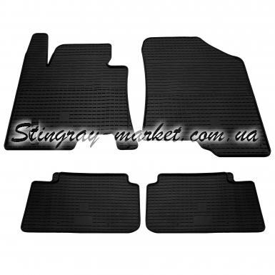 Комплект резиновых ковриков в салон автомобиля Kia Ceed
