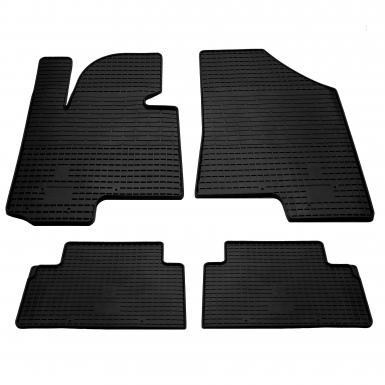 Комплект резиновых ковриков в салон автомобиля Hyundai iX35 2010-