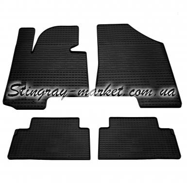 Комплект резиновых ковриков в салон автомобиля Kia Sportage 2010-