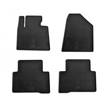 Комплект резиновых ковриков в салон автомобиля Hyundai Santa Fe 2013-
