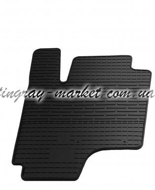 Водительский резиновый коврик Hyundai Getz