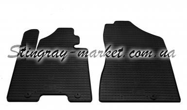 Передние автомобильные резиновые коврики Kia Sportage QL