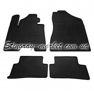Комплект резиновых ковриков в салон автомобиля Kia Sportage QL 2015-