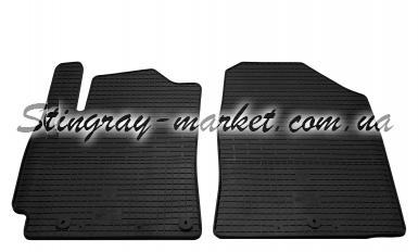Передние автомобильные резиновые коврики Hyundai Elantra AD 2015-