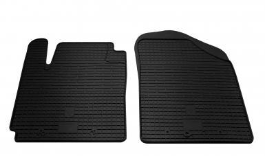 Передние автомобильные резиновые коврики Hyundai I10 2008-