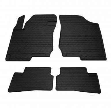 Комплект резиновых ковриков в салон автомобиля Kia Ceed 2007- (design 2016)