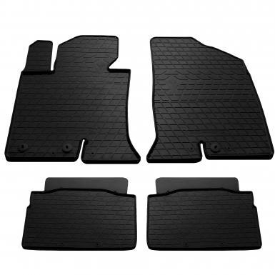 Комплект резиновых ковриков в салон автомобиля Hyundai Sonata YF 2011-2014