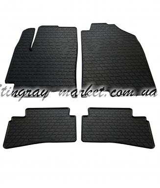 Комплект резиновых ковриков в салон автомобиля Kia Stonic 2017-