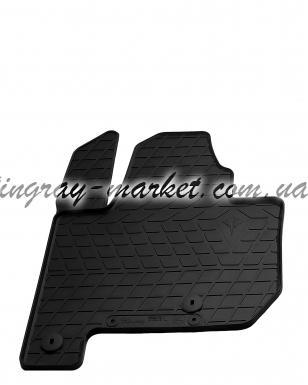 Водительский резиновый коврик Kia soul EV 2014-