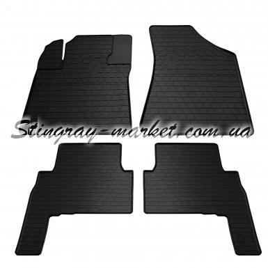 Комплект резиновых ковриков в салон автомобиля Kia Sorento 2009-
