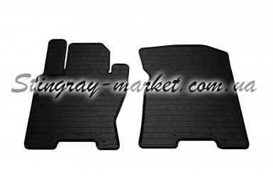 Передние автомобильные резиновые коврики Kia Mohave 2008-