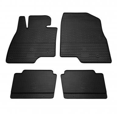 Комплект резиновых ковриков в салон автомобиля Mazda 3 2013-