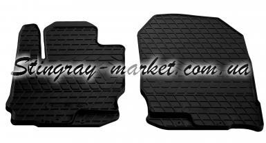 Передние коврики в салон автомобиля Mitsubishi Colt 04- (design 2016)