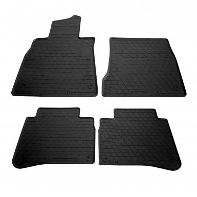 Комплект резиновых ковриков в салон автомобиля Mercedes Benz W222 S long 2013-
