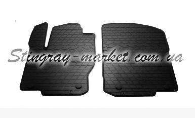Передние автомобильные резиновые коврики Mercedes Benz GL-X166 2012-