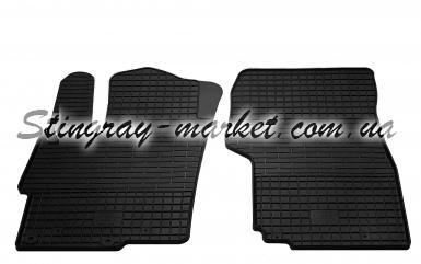 Передние автомобильные резиновые коврики Mitsubishi Lancer X 2007-