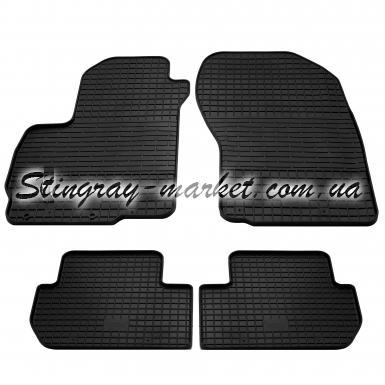 Комплект резиновых ковриков в салон автомобиля Citroen C-Сrosser 2007-2013