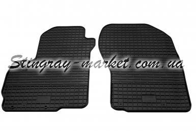 Передние автомобильные резиновые коврики Citroen C4 Aircross 2012-2015