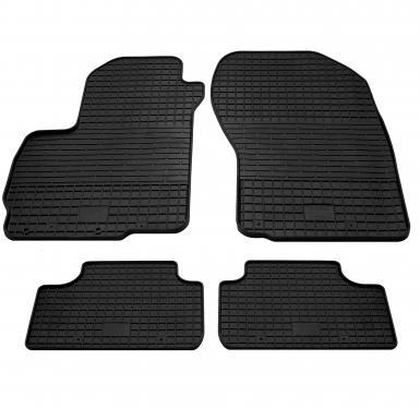 Комплект резиновых ковриков в салон автомобиля Citroen C4 Aircross 2012-2015