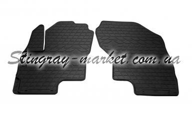 Передние автомобильные резиновые коврики Mitsubishi Outlander PHEV 2013-