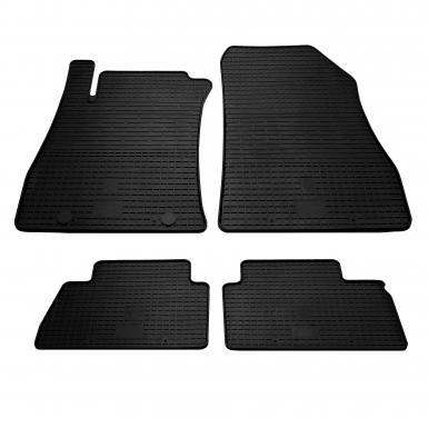 Комплект резиновых ковриков в салон автомобиля Nissan Juke 2010-